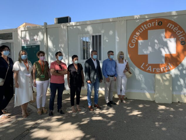 Imagen: Apertura del consultorio de verano del Arenal