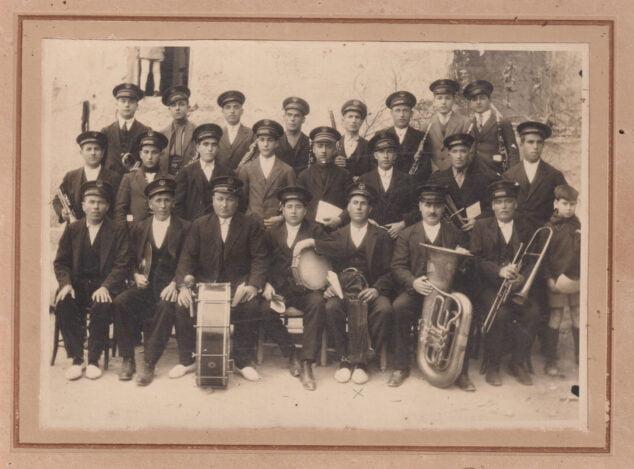 Imagen: Banda de música la vila 1921