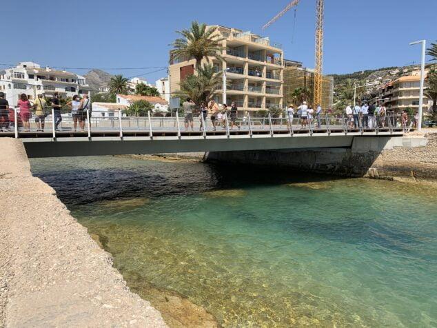 Imagen: Bases del antiguo puente de  triana