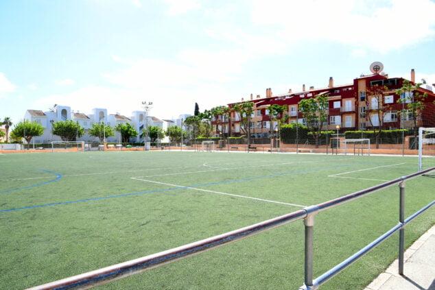 Imagen: Campo de fútbol de Les Mesquides