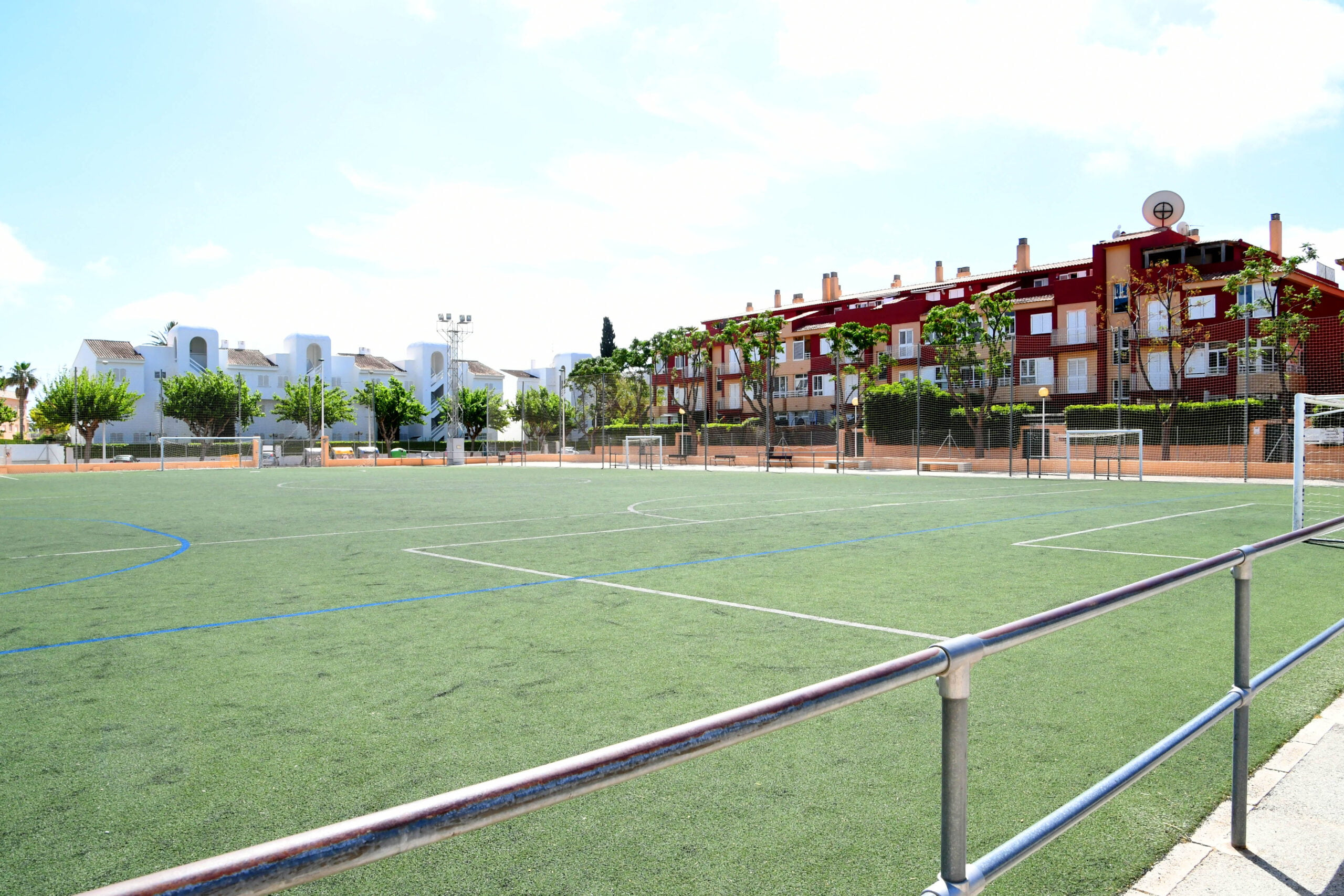 Campo de fútbol de Les Mesquides
