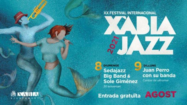 Imagen: Cartel de Xàbia Jazz 2021