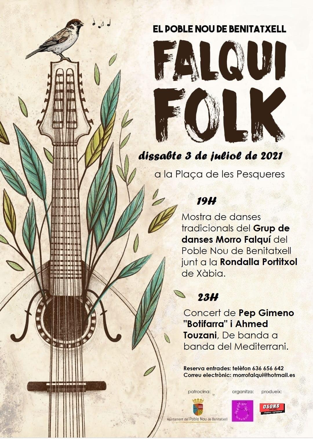 Cartel del Falqui Folk 2021