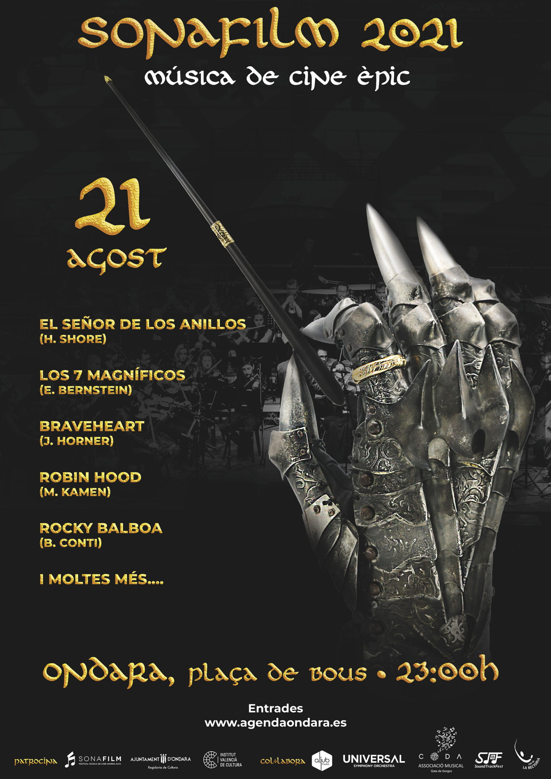 Cartel de la 3ª edición del Sonafilm