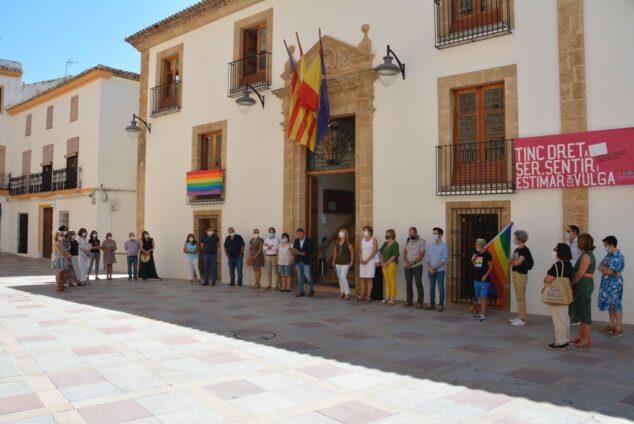Imagen: Celebración del acto institucional día del Orgullo