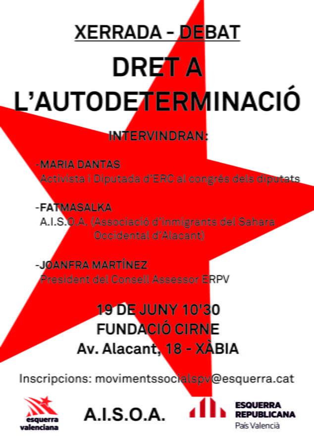 Imagen: Charla Derecho a la Autodeterminación