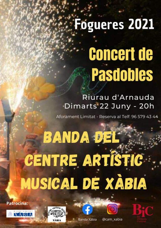 Imagen: Concierto de la Banda de Música de Xàbia