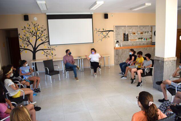 Imagen: Consell d'Infància de Benitatxell sobre programación de fiestas