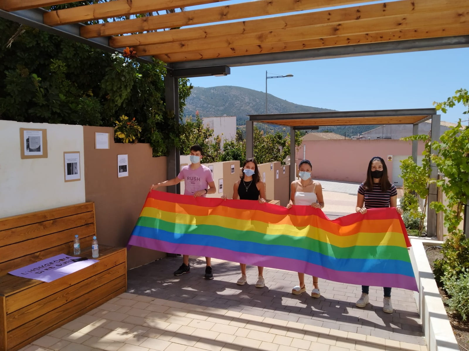 Día del Orgullo LGTBI en el Poble Nou de Benitatxell