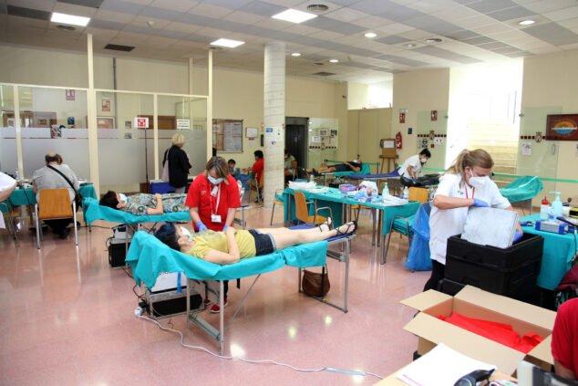 Imagen: Donación de sangre HLA San Carlos