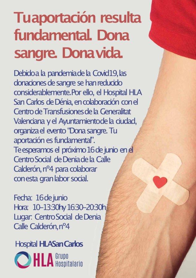 Immagine: Donazione Ospedale San Carlos