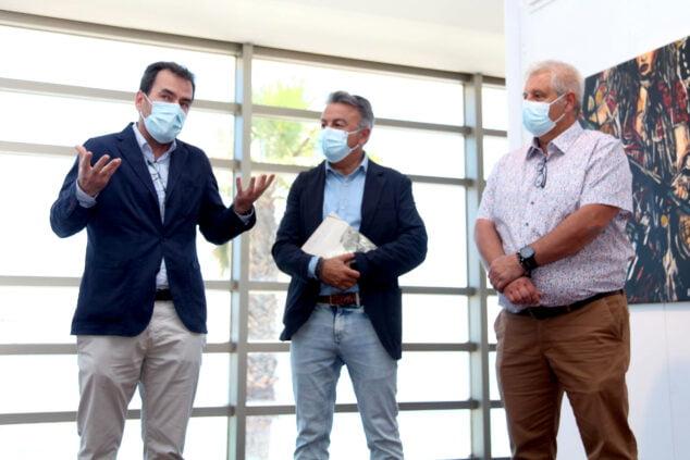 Imagen: Durante la presentación de la exposicón de Joaquín Sorolla
