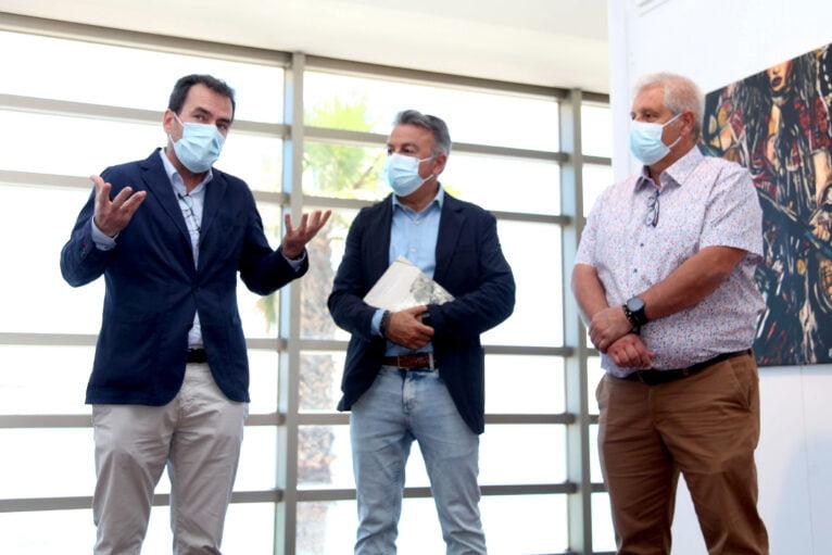 Durante la presentación de la exposicón de Joaquín Sorolla