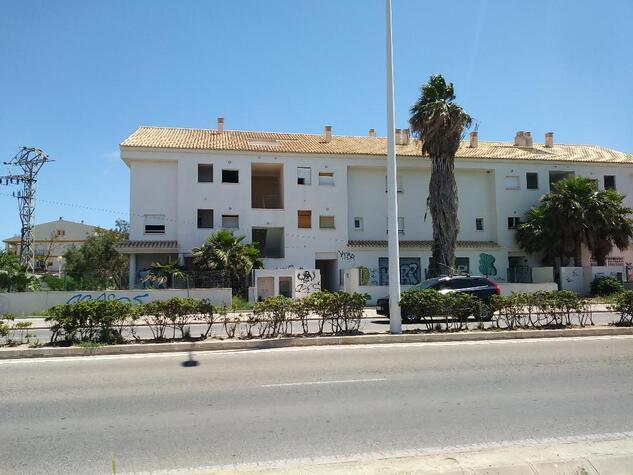Imagen: Edificio abandonado propuesto para vivienda social