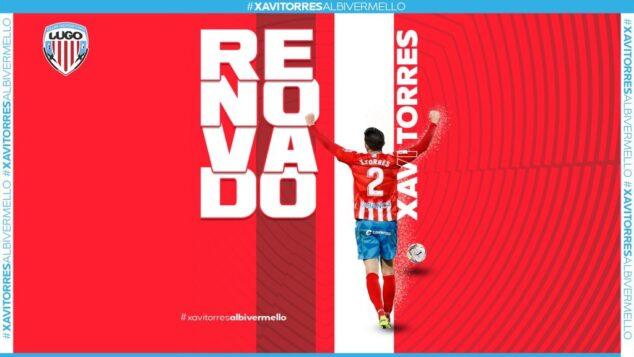 Imagen: El centrocampista de Xàbia es renovado por el CD Lugo