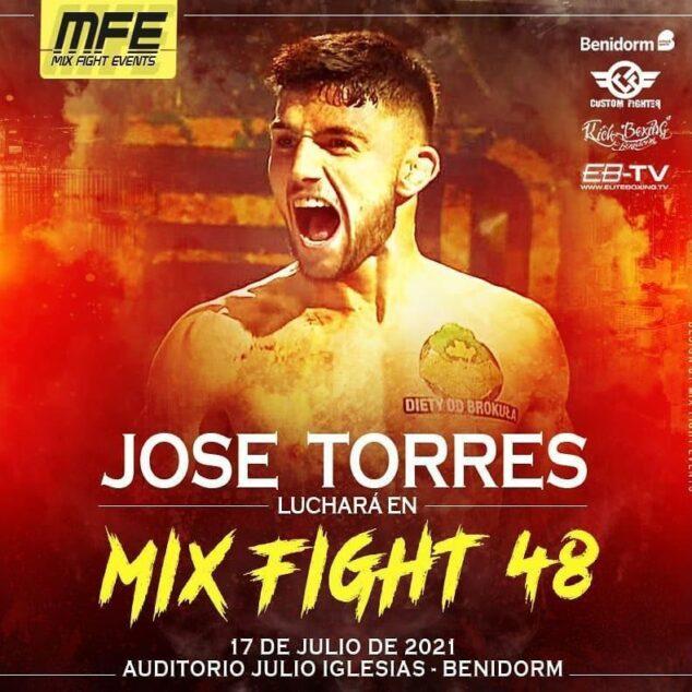 Imagen: El luchador de Xàbia, José Torres
