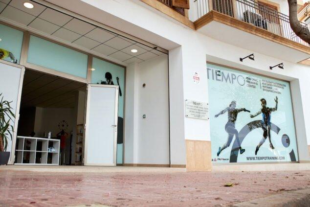 Imagen: Entrada de Tiempo Personal Training Center