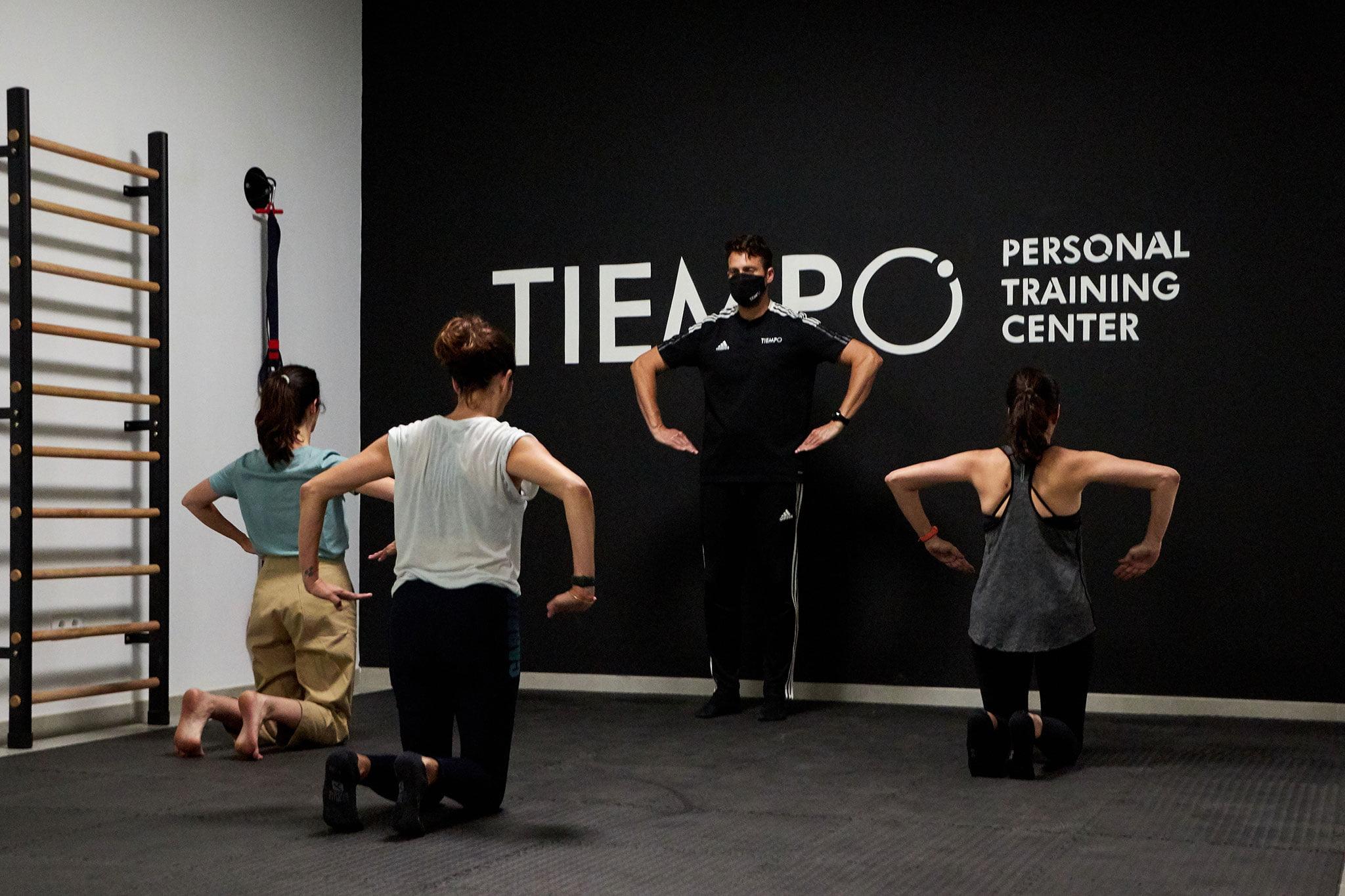 Entrenamiento de grupo – Tiempo Personal Training Center