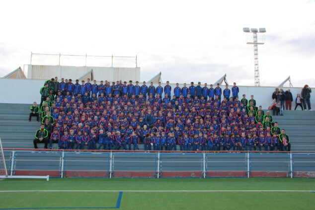 Imagen: Equipos de la Escuela del CD Jávea de 2019