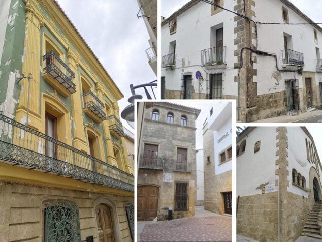 Imagen: Estado de los edificios municipales de Xàbia