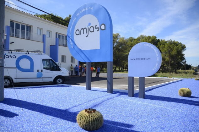 Imagen: Fachada de las oficinas de Amjasa