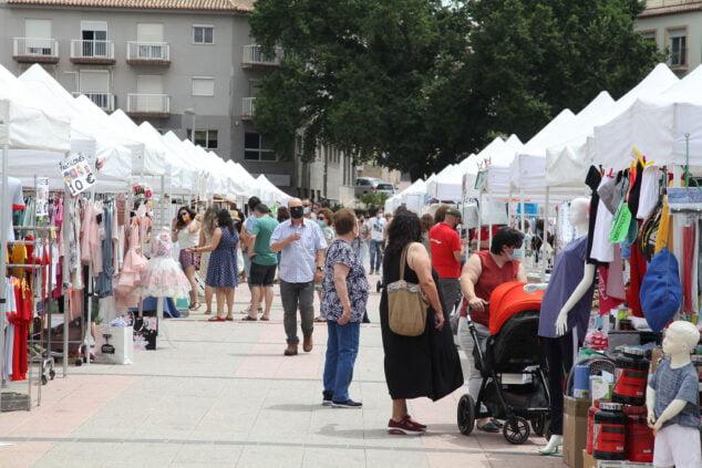 Imagen: Feria del stock de Xàbia