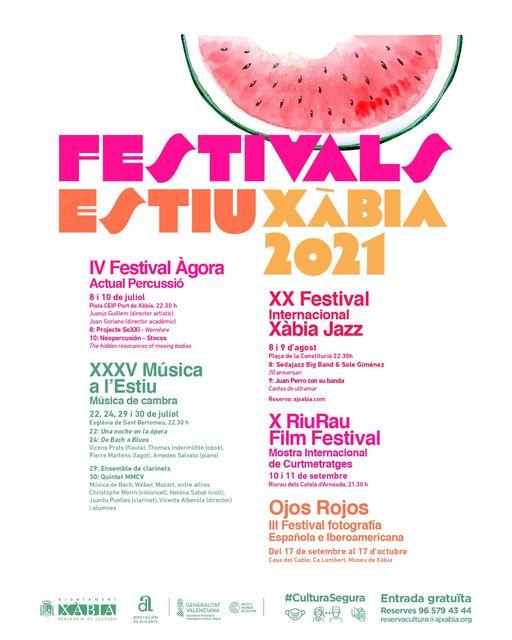 Imagen: Festivals d'Estiu Xàbia