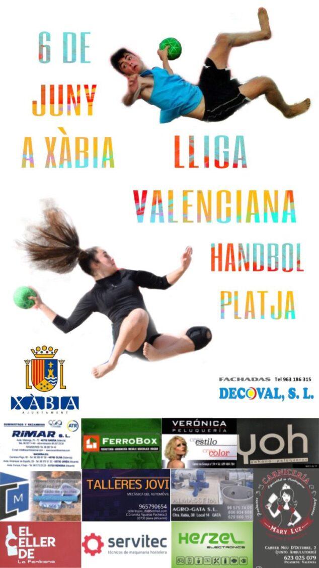 Imagen: Handbol Platja a Xabia