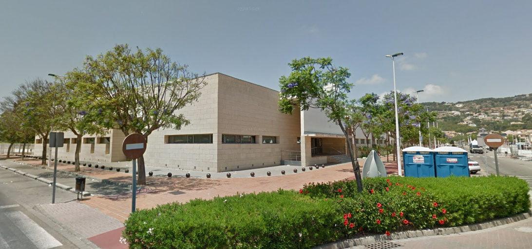 IES nº1, sede de la EOI de Xàbia