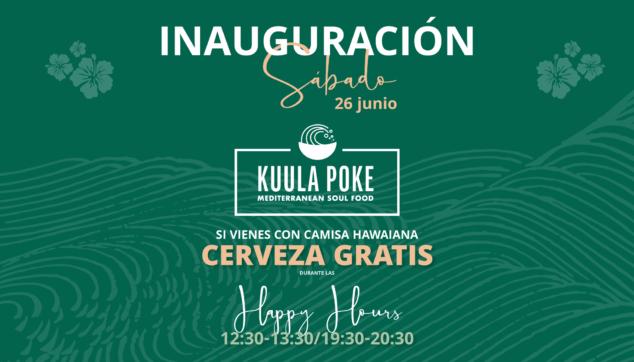 Imagen: Inauguración Kuula Poke