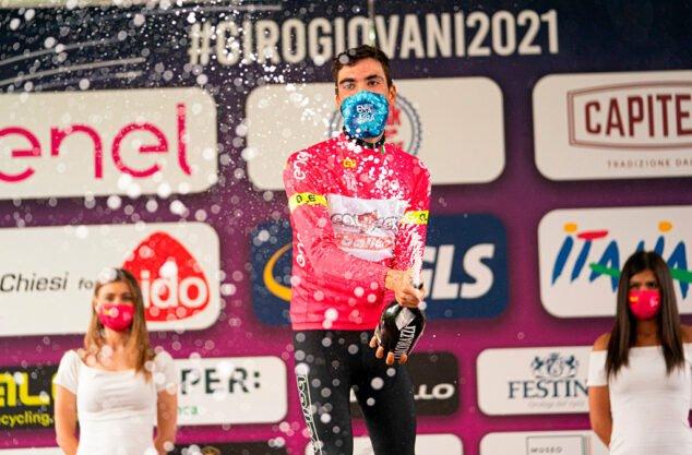 Imagen: Juan Ayuso, campeón Giro de Italia