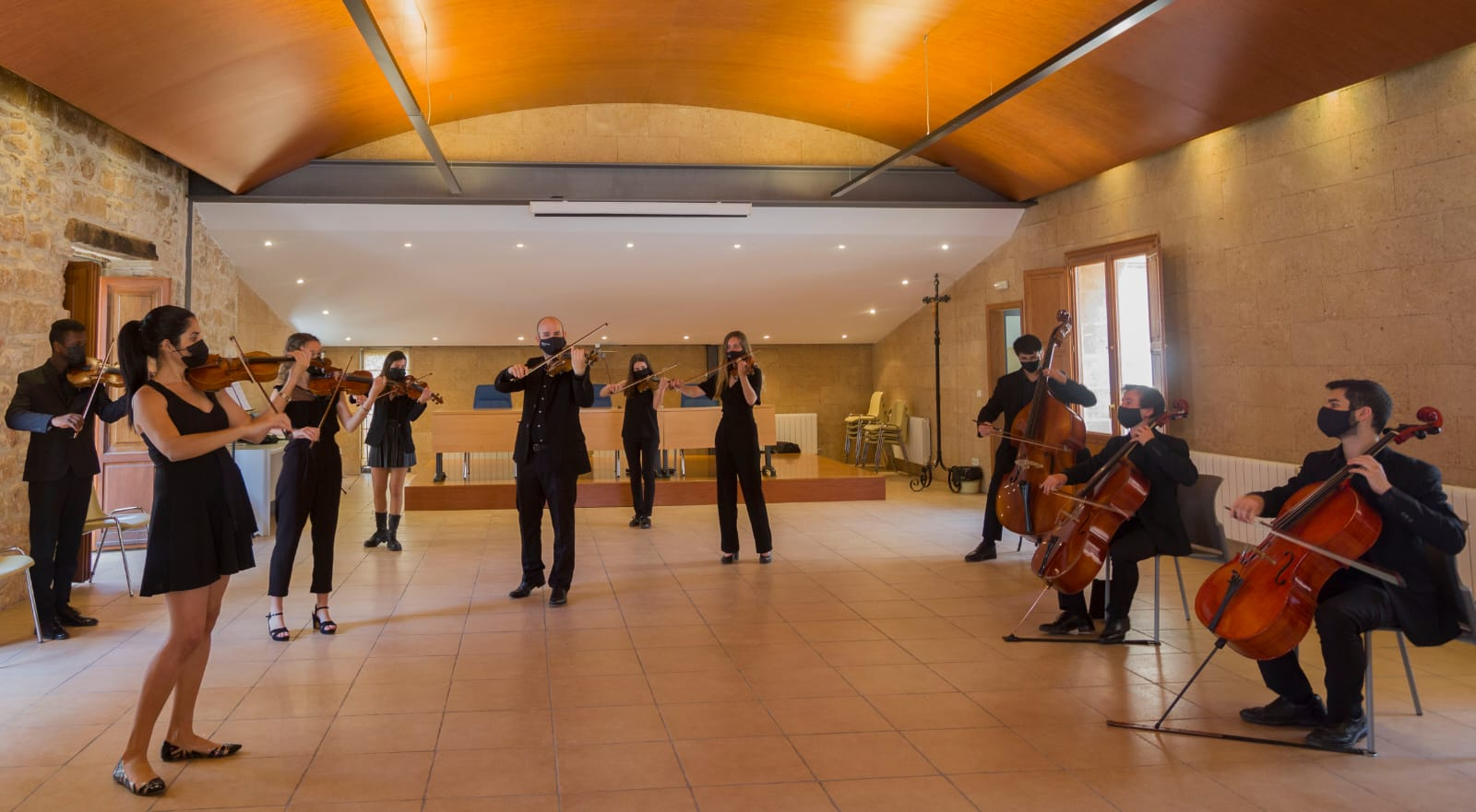 La orquesta de cámara 'Marinae Ensemble'