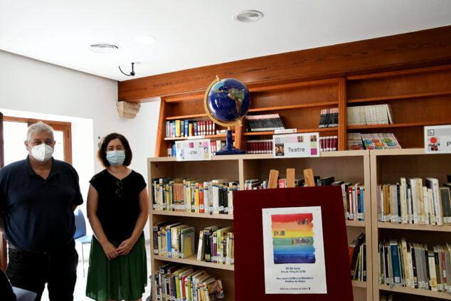 Imagen: Nueva sección LGTBI en las Bibliotecas de Xàbia