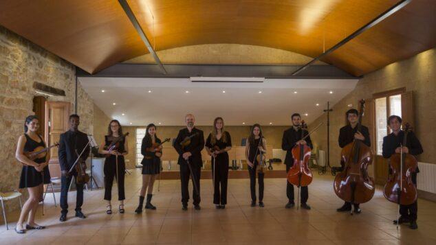 Imagen: Músicos de la orquesta Marinae Ensemble