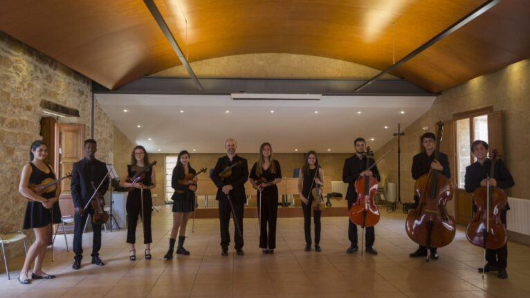 Músicos de la orquesta Marinae Ensemble