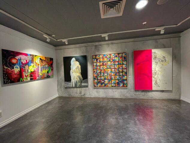 Imagen: Pinturas seleccionadas del XXII Premio Nacional de Pintura