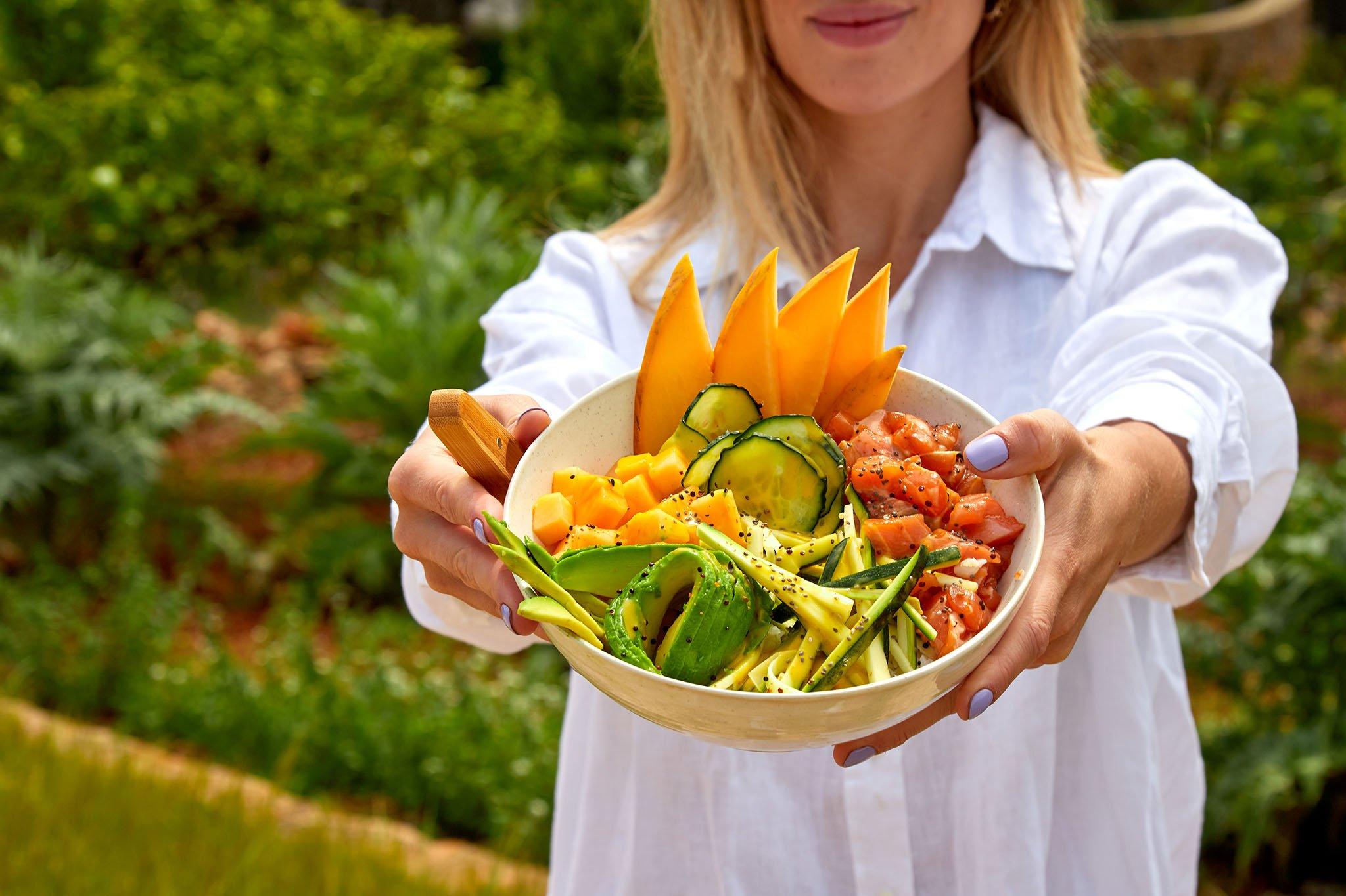 Platos saludables en Kuula Poke