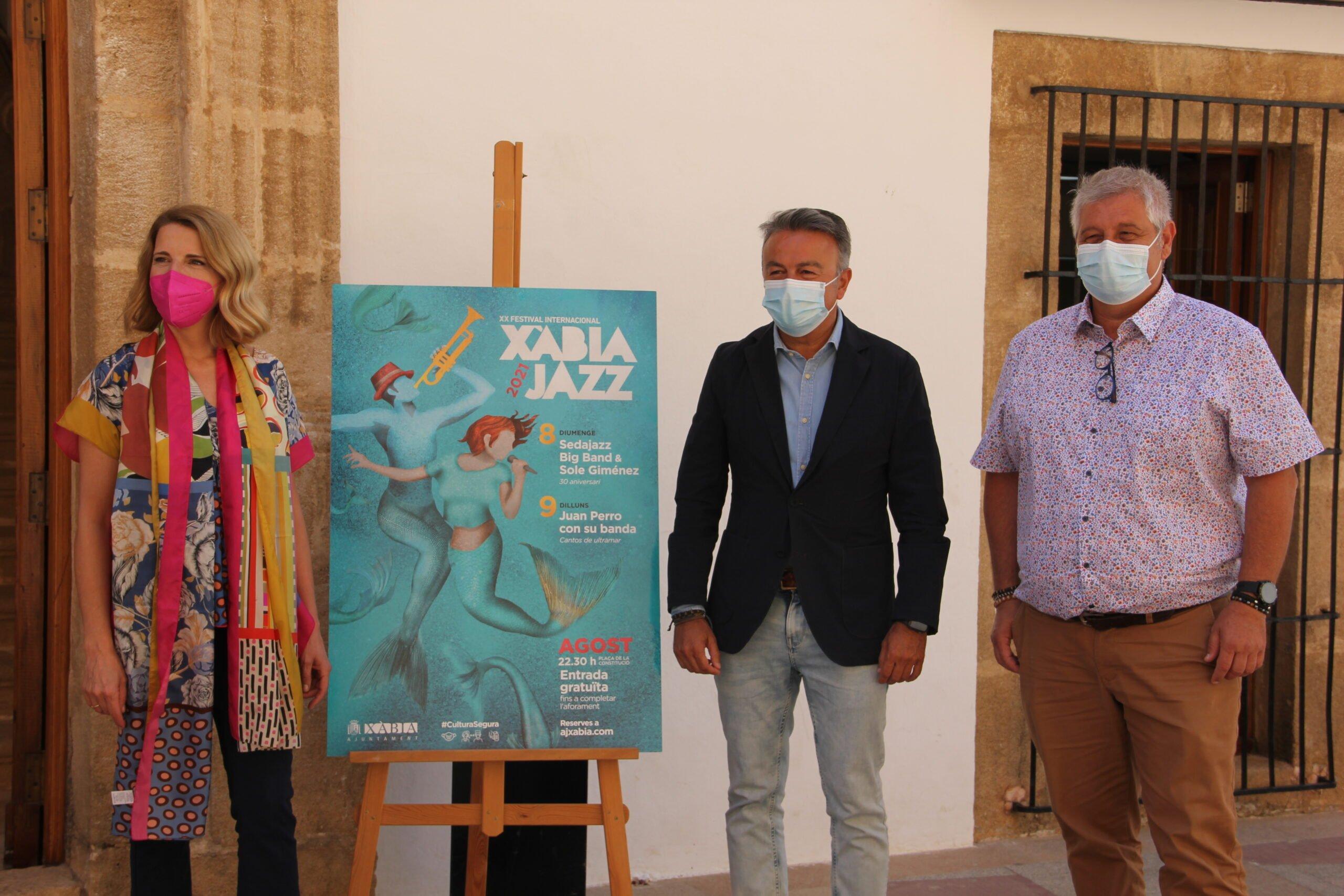 Presentación del Festival Xàbia Jazz 2021