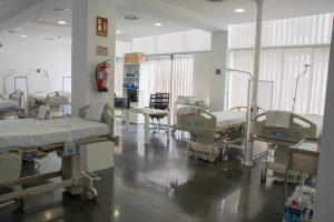 Imagen: Sala del hospital de Dénia
