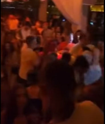 Imagen: Situación de una discoteca de Xàbia este fin de semana