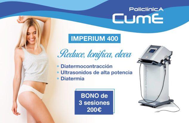 Imagen: Tratamiento Imperium 400 en Policlínica CUME