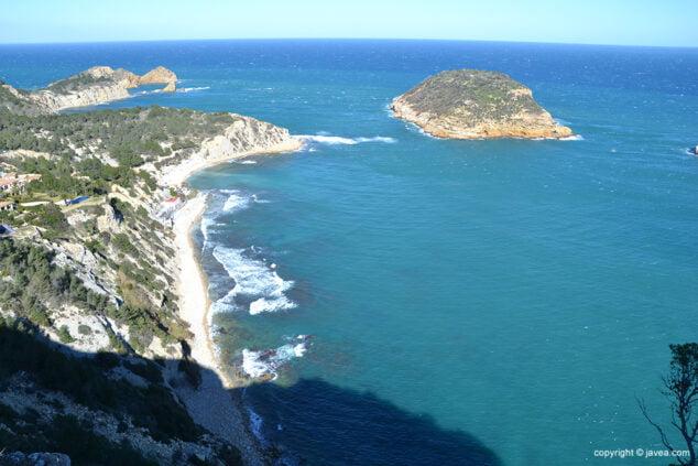 Imagen: Bahía de Xàbia