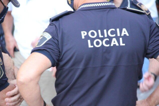 Imagen: Agentes de la Policía Local
