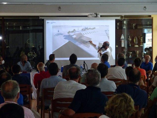Imagen: Asamblea de socios del Club Náutico Jávea