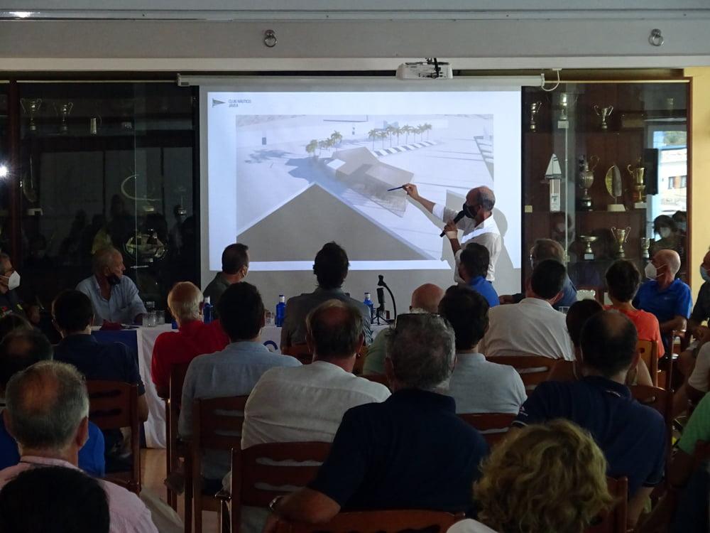 Asamblea de socios del Club Náutico Jávea