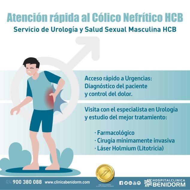 Imagen: Atención al cólico nefrítico en Hospital Clínica Benidorm
