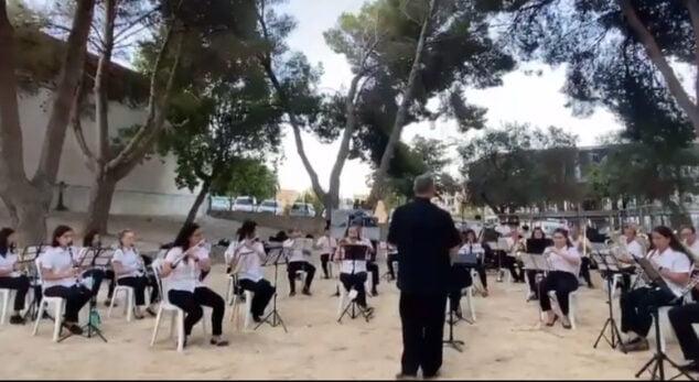 Imagen: Banda del Centre Artístic Musical de Xàbia