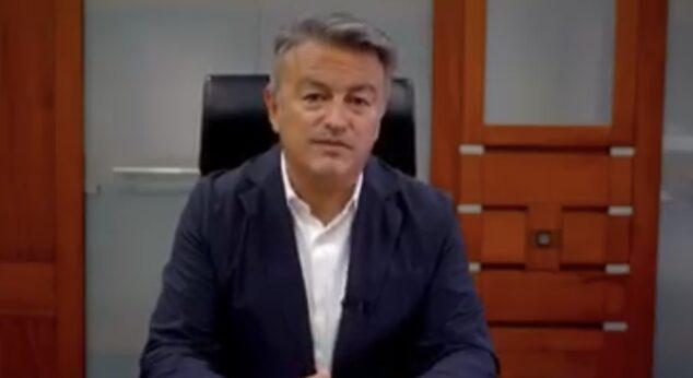 Imagen: Comunicado del alcalde de Xàbia, José Chulvi