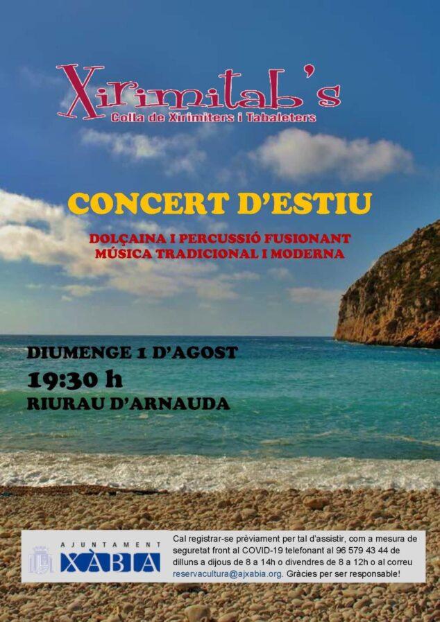 Imagen: Concierto de Verano Xirimitab's en Xàbia
