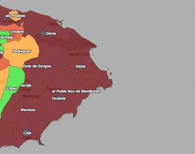 Imagen: Datos de coronavirus el 16 de julio de 2021